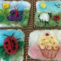 22nd July - Summer Felt Pictures