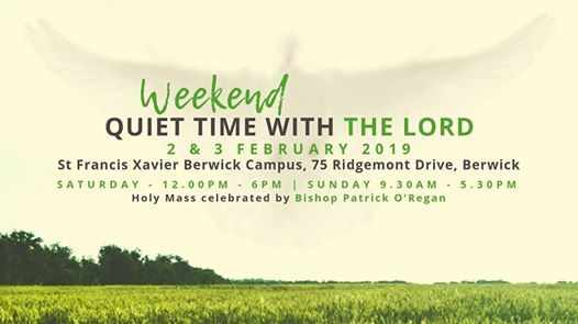 CRL (Weekend) Retreat 2019 Quiet Time with the Lord