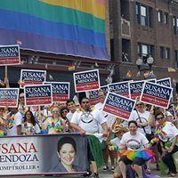 Pride Parade March with Susana