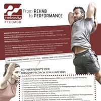 Rebody FTCoach - Functional Training Aus-Fortbildung
