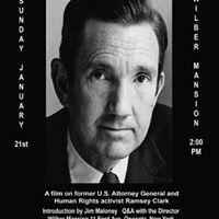 Ramsey Clark Documentary Screening by Joseph Stillman
