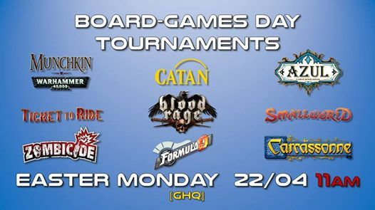 Easter Monday Board-games Day