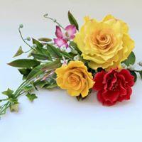 Gumpaste Flowers by Swati Jain