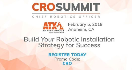 Chief Robotics Officer Summit at ATX West