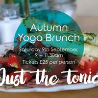 Autumn Yoga Brunch Nottingham - Just the tonic
