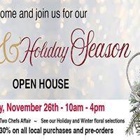 Holiday Season Open House