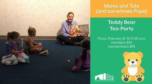 Moms & Tots (& Sometimes Pops) Teddy Bear Tea-Party