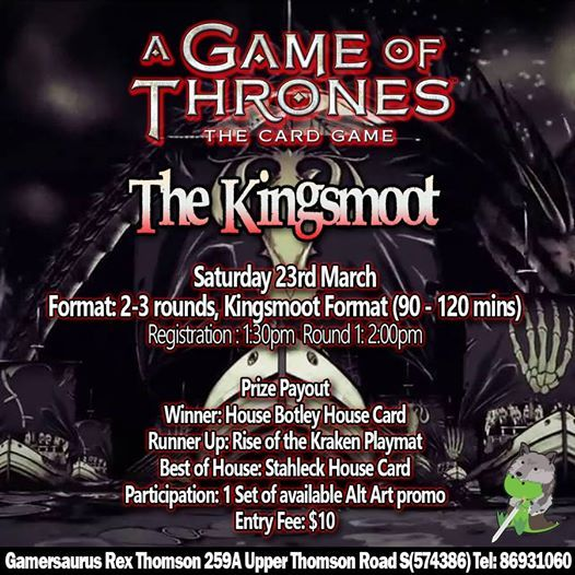 A Game of Thrones LCG - The Kingsmoot