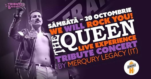 We Will Rock You - The QUEEN Live Experience by Merqury Legacy