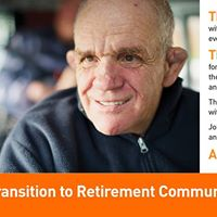 Transition to Retirement Community Training Event