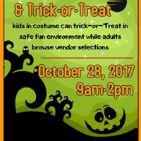 Halloween Vendor Fair &amp Trick-or-Treat