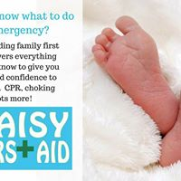 Dumfries - Baby and child first aid class for parents and carers