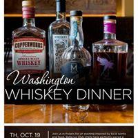 Washington Whiskey Dinner