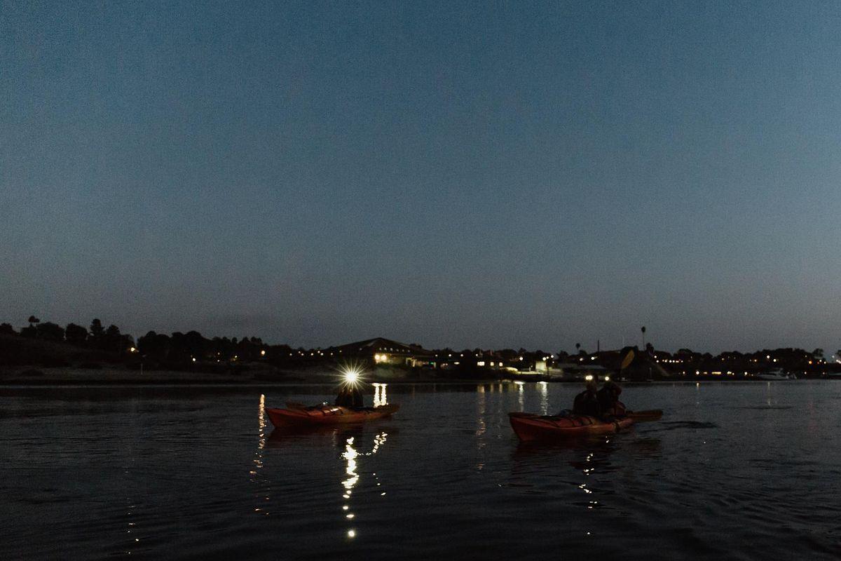 Full Moon Kayak Tour on Lake Austin
