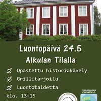 Luontopiv Alkulan Tilalla  Naturdag vid Alkula