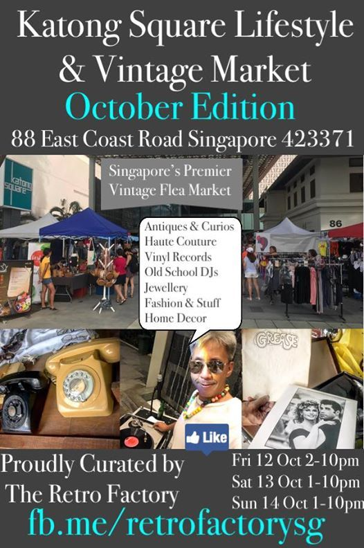 Katong Square Lifestyle & Vintage Market October Edition