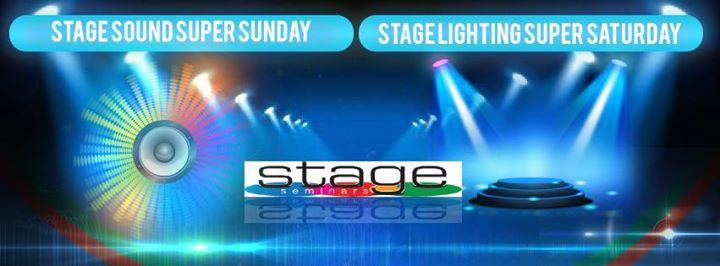 Stage Lighting Super Saturday