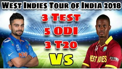 India vs West Indies 5 ODIs 2018 Indore