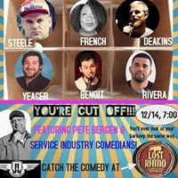 Winter Comedy Series feat. Service Industry Comedians