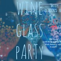 Wine Glass Paint Party with Zealous Art at the Byrd