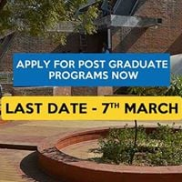 Last Date to Apply for PG Programs