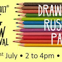 Big Draw Event - Drawing Ruskin Park
