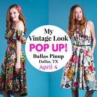 My Vintage Look POP UP Shopping Event at Dallas PinUp