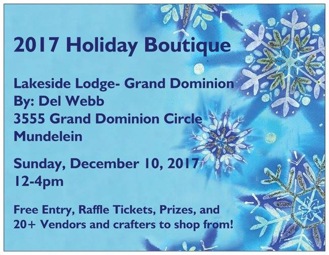 2017 Holiday Boutique