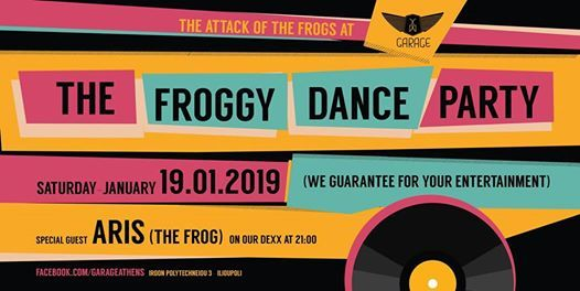 The Froggy Dance Party with Aris (The Frog) Renesis