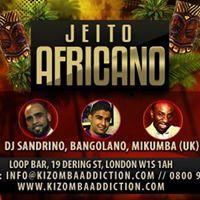 Jeito Africano - Loop Bar - Kizomba &amp Semba Class &amp Party