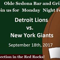 NFL Monday Night Football in Sedona AZ