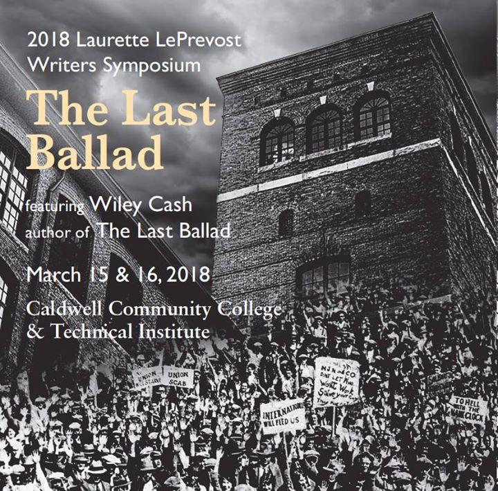 2018 Laurette LePrevost Writers Symposium