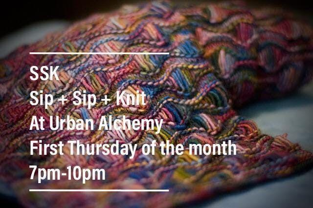 SSK - Sip Sip Knit