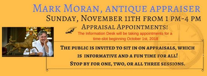 Antique Appraisal-Mark Moran at Menomonie Public Library600