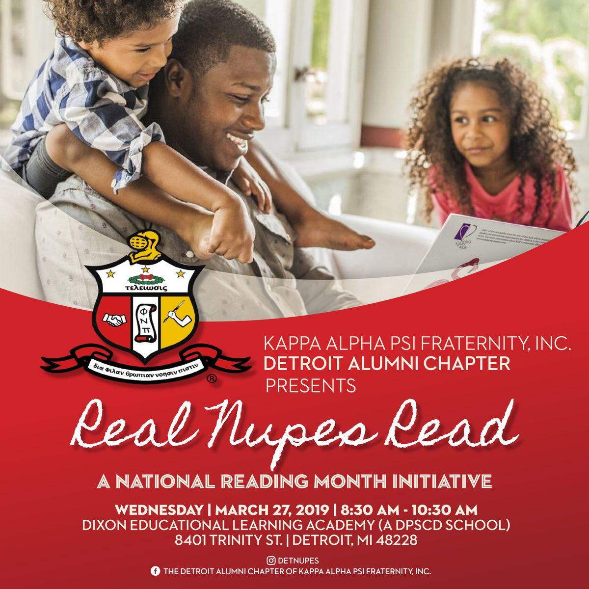 Kappa Alpha Psi Fraternity Inc. Presents Real Nupes Read