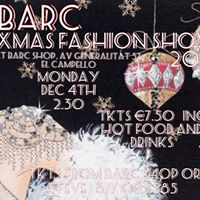 BARC CHRISTMAS FASHION SHOW 2017.