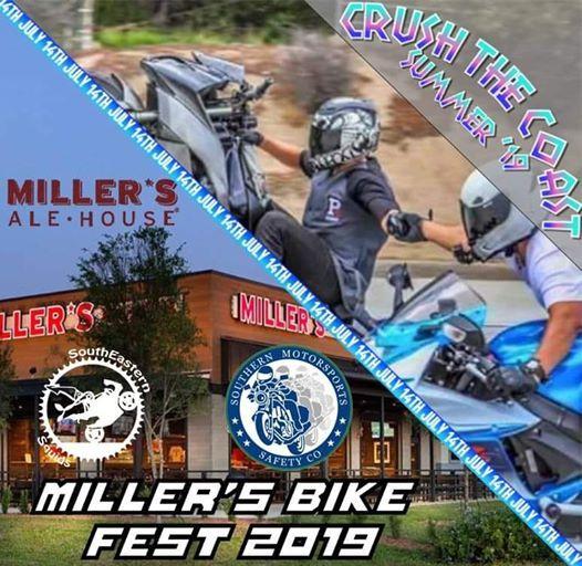 Crush The Coast & Millers Bike Fest - Summer 19