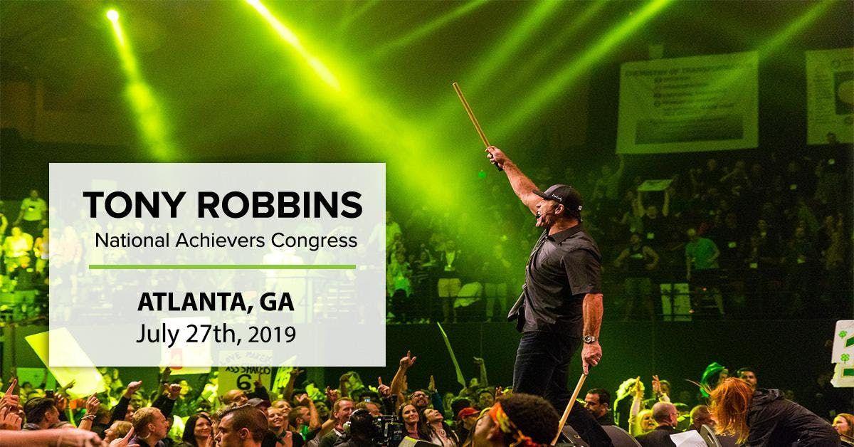 Tony Robbins and more LIVE in Atlanta