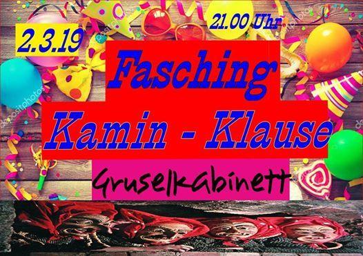 Fasching In Der Kamin Klause Motto Gruselkabinett At Kamin