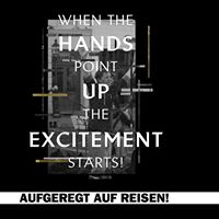 Hands up Excitement Live in Usti nad Labem