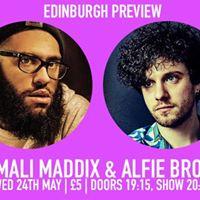 Edinburgh Preview Jamali Maddix &amp Alfie Brown