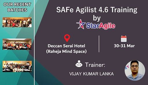 SAFe Agilist 4.6 Training