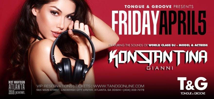 World Class DJ - Actress and Model Konstantina Gianni at Tongue and Groove