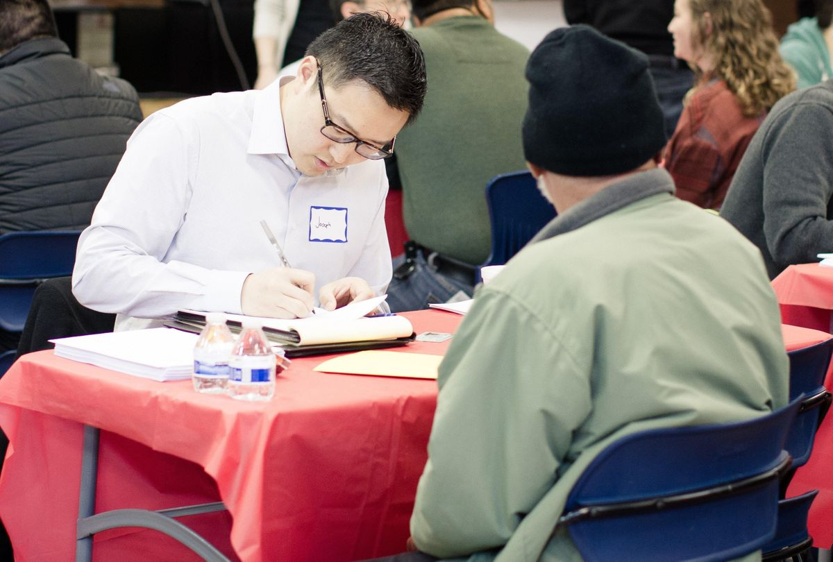 Low-cost Citizenship Workshop at World Relief Chicago, Chicago
