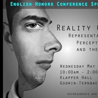 English Honors Conference Spring 2017