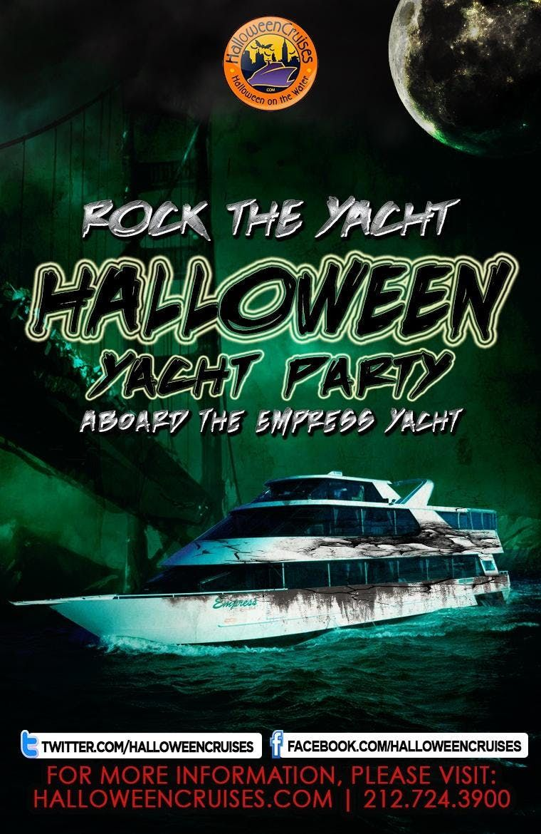 halloween 2018 - the haunted ghost ship aboard the empress yacht