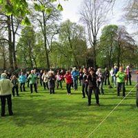 Wereld Tai Chi en Chi Kung dag in Valkenbergpark Breda