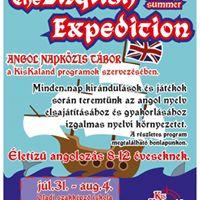 The English Expedition - Kiskaland Tbor angolul