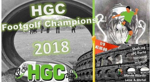 HGC Footgolf Champions 2018