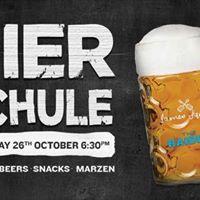 Oktoberfest Bier Schule